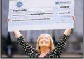 Angela Kelly - lottery winner